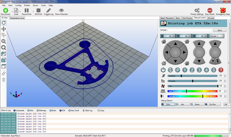Repetier-Host - FULLBOT-3D